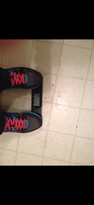 My heaviest weight in 2014...